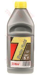 Тормозная жидкость TRW DOT 5.1, 1 л.