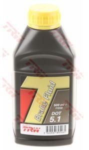 Тормозная жидкость TRW DOT 5.1, 0.5 л.