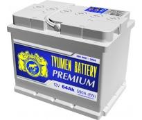 Аккумулятор Тюмень Premium 64 L+