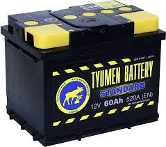 Аккумулятор Тюмень Standard 60A, R+
