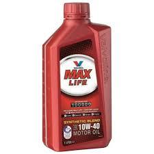 Масло моторное Valvoline MaxLife 10W-40, 1 л.
