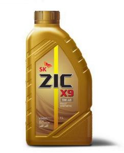 Масло моторное ZIC X9 5W-40, 1 л.