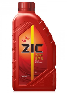 Масло трансмиссионное ZIC ATF SP 3, 1 л.