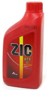 Масло трансмиссионное ZIC ATF III, 1 л.
