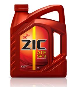 Масло трансмиссионное ZIC ATF SP 3, 4 л.