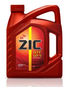 Масло трансмиссионное ZIC ATF SP 4, 4 л.
