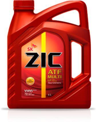 Масло трансмиссионное ZIC ATF Multi LF, 4 л.